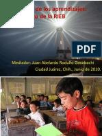 A-Evaluación de los aprendizajesTOBON-MBC-Mayo2010
