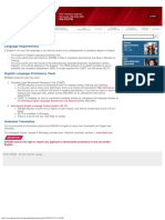 Language Requirements - APEGM