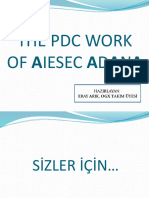 The Pdc Work of Aiesec