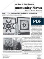 Rising Sun & Ohio County Community News ~ April 2009 Edition