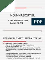 Curs 7 - Nou-nascutul - PROF DR C ARION
