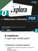 3 - Moléculas e Fórmulas Químicas