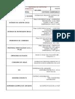 TABLA N° 10 PARAMETROS AMBIENTALES Y NORMATIVA