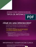 Interacciones Faramacologicas Alimentarias 08 Nov.