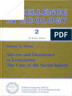 (Excellence in Ecology 2) Edward O. Wilson-Success and Dominance in Ecosystems_ the Case of the Social Insects-Ecology Institute (1990)
