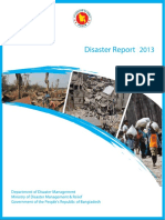 Bangladesh Disaster Report 2013