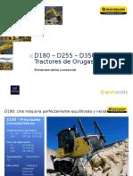 Tractores d180 d255 d350