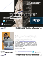 Hackings vs Forensia 2.0