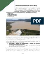 Rischio Idrico e Idrologico dighe e invasi