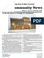 Rising Sun & Ohio County Community News ~ December 2008 Edition
