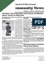 Rising Sun & Ohio County Community News ~ February 2009 Edition