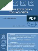 Status of ICT