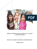 Nutricion e Higiene Libertad Proyectos de Vinculacion