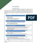 6. Estructura organizacional