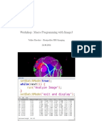 Macro Programming With ImageJ