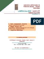 LAMPEA-Doc 2010 – numéro 22 / Vendredi 18 juin 2010