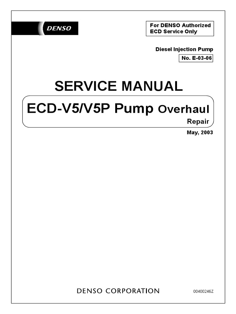 Denso service manual today manual guide trends sample 5l e ve pump denso repair manual pump diesel engine rh es scribd com denso hp2 service manual denso robot service manual fandeluxe Image collections