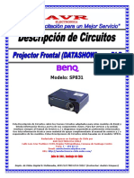 BENQ SP831 Descripcion Circuitos Rev.001