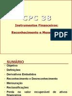 Cpc 38 - Instrumentos Finaceiros