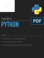 Fun with Python