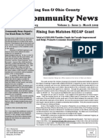 Rising Sun & Ohio County Community News ~ March 2009 Edition