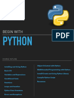 Begin with Python