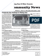 Rising Sun & Ohio County Community News ~ November-December 2009 Edition