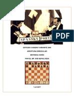 Estudio Casero B00-Con-1.e4-b6- MF Job Sepulveda