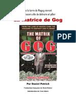 Patrick Daniel - La Matrice de Gog