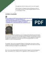 Los Quiebres Institucionales Que Significaron El Fin de La Democracia y El Cierre Del Congreso