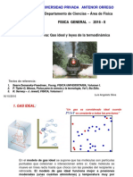 Gas Ideal y Leyes de La Termodinámica
