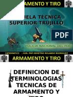 Armamento y Tiro (TERMINOLOGIAS)