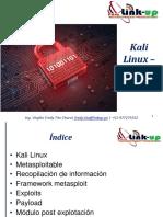 Laboratorio 01 Kali Linux Metasploitable