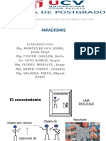 UCV 2° PARADIGMAS DE LAINVESTIGACION