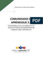 Documento Final Comunidades de Aprendizaje Ok