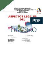 Aspectos Legales Del Turismo