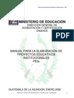 Manual Para La Elaboracion Del PEIs