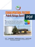 Standard Operational Prosedure PT. BDL Rantau Mill....