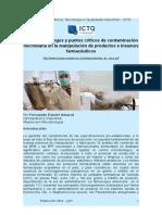 Análisis de riesgos y puntos críticos de contaminación microbiana en la manipulación de productos e insumos farmacéuticos