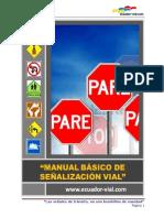 Manual Señales Transito Ecuador