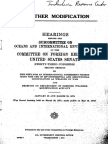TOP SECRET Hearings Before the Subcommittee on Oceans and International Environment - January 25 and March 20, 1974 ENMOD