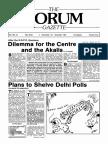 The Forum Gazette Vol. 2 No. 21 November 5-19, 1987