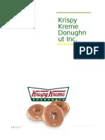 Krispy Kreme Final