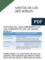 Compuestos de Los Gases Nobles.