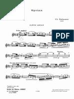 IMSLP12780-Debussy - Syrinx Solo Flute