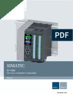 s71500 Cpu1511c 1 Pn Manual en-US en-US