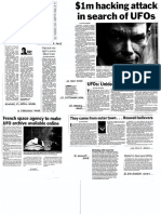 UFO Related Articles in Australian (NSW) Newspapers (2005 to 2011)