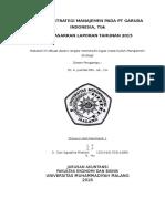Analisis Strategi Manajemen Pada Pt Garuda Indonesia