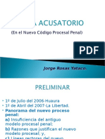 Sistema Acusatorio Exposicion Huacho