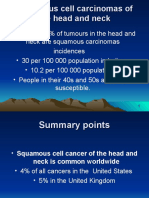 Squamous Cell Carcinomas of the Head and Neck
